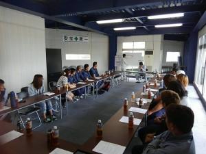 北川工業安全大会